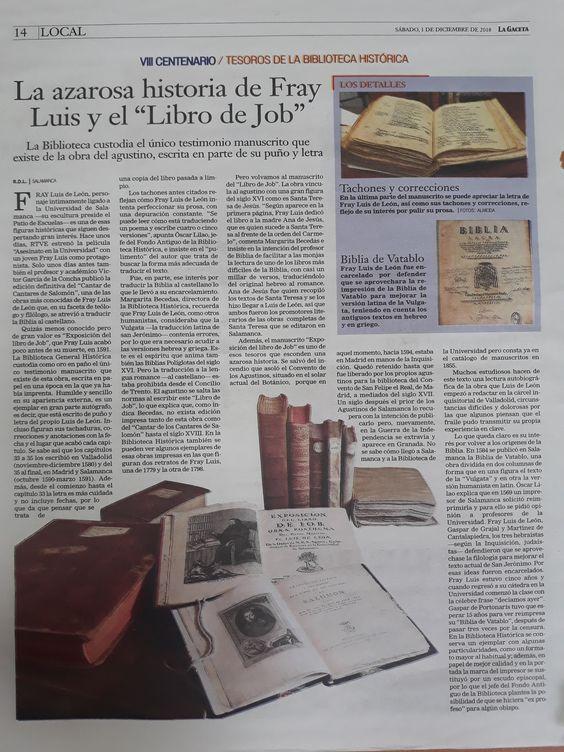 Libro de Job. Fray Luis de León