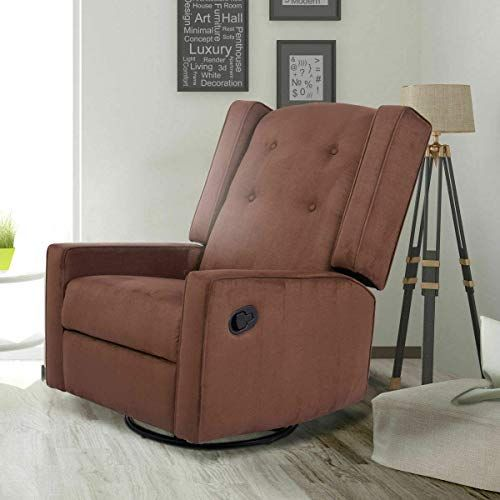 Amazing Offer On Swivel Glider Recliner Sofa Chair Gliding Upholstered Nursery Room Online In 2020 Glider Rocking Chair Reclining Sofa Chair