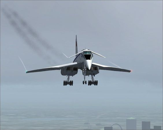 Tupolev ✈ Tu-144 \Though not a great success, what a great design.