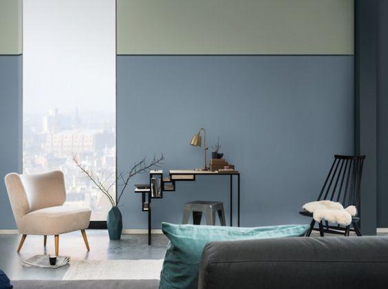 salon bleu gris dulux valentine 3 vt pinterest. Black Bedroom Furniture Sets. Home Design Ideas