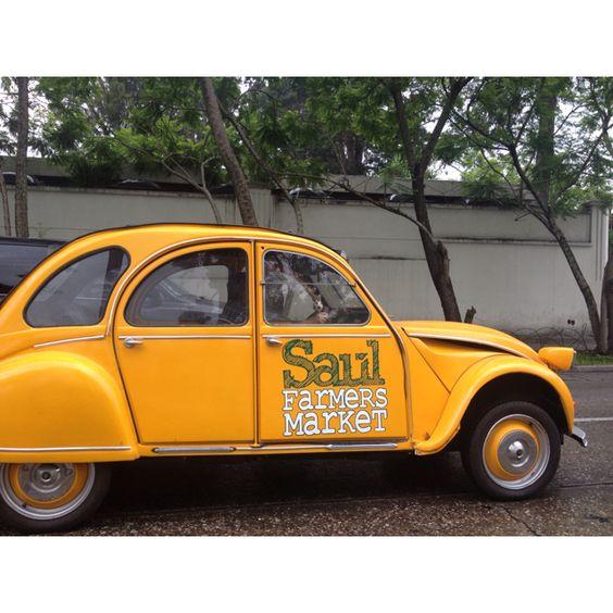 El carrito de Saul x las calles de guate!