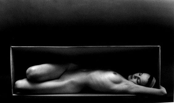 Ruth Bernhard, In the Box, 1962