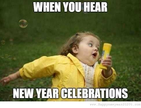 Happy New Year 2020 Funny Memes Images Download