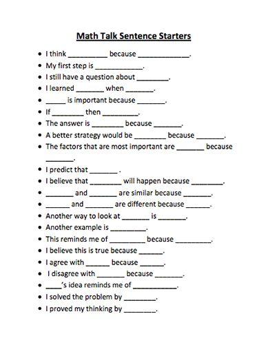 20 best Sentence Frames images on Pinterest   Frases, Sentences and ...