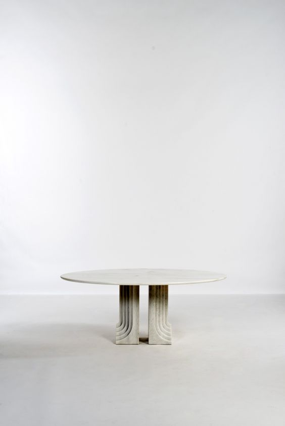 Important and Rare Marble u0027SAMOu0027 Dining Table by Carlo Scarpa - design esstisch marmor tokujin yoshioka
