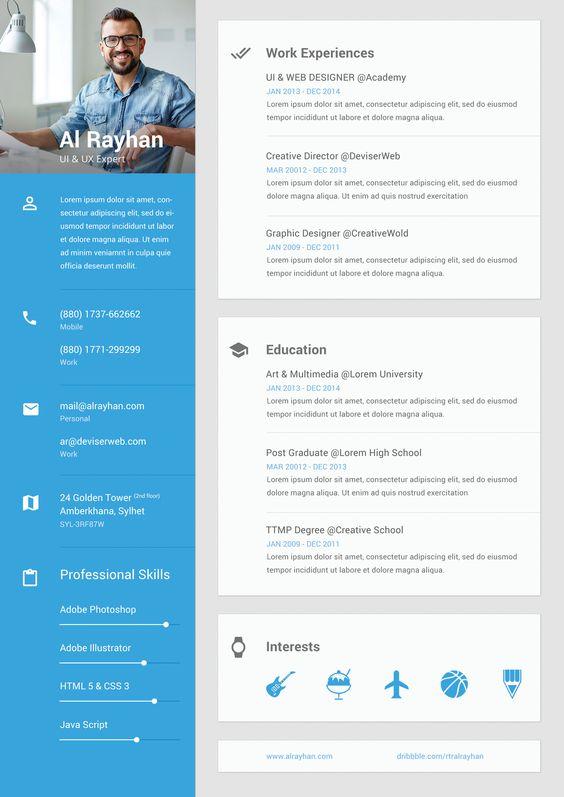 Resume Ui Designer