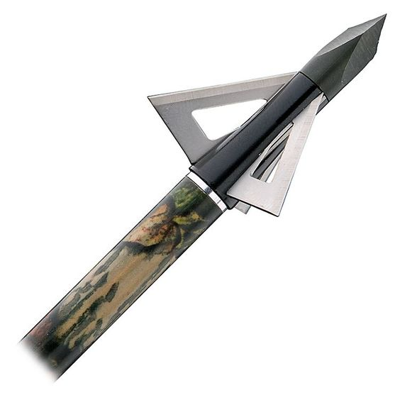Muzzy MX-3 Fixed-Blade Broadheads or Replacement/Practice Blades   Bass Pro Shops