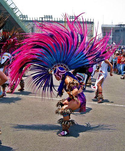 Aztec penacho (headdress) ♥