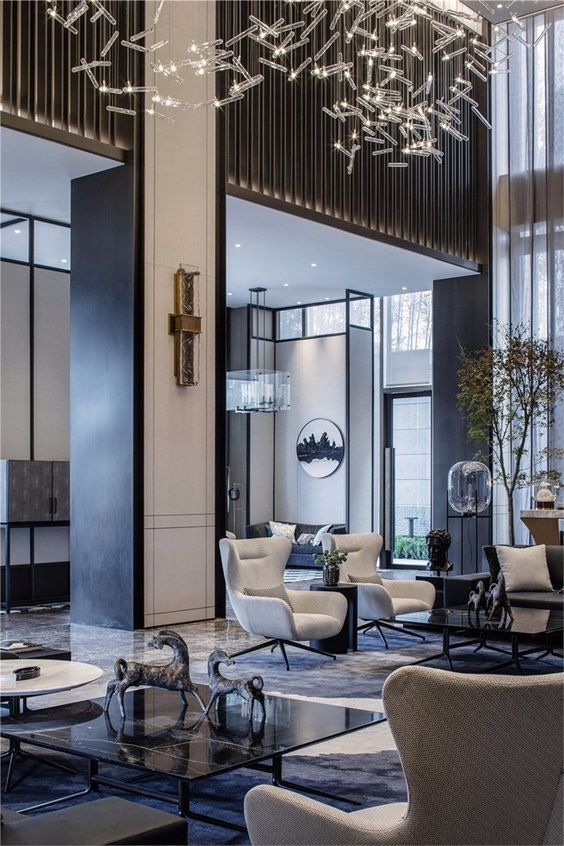Stunning Luxury Interior Design Ideas For Modern Boutique Hotels Bedroomdecoration Luxurydecoration Hot Luxury Hotel Design Hotel Lobby Design Lobby Design