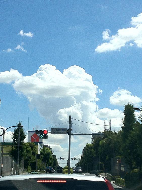 cloud like a frog...?