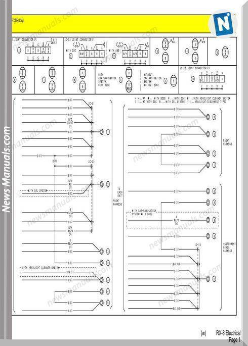 Mazda Rx7 Electrical Wiring Diagram Electrical Wiring Diagram Mazda Rx7 Rx7