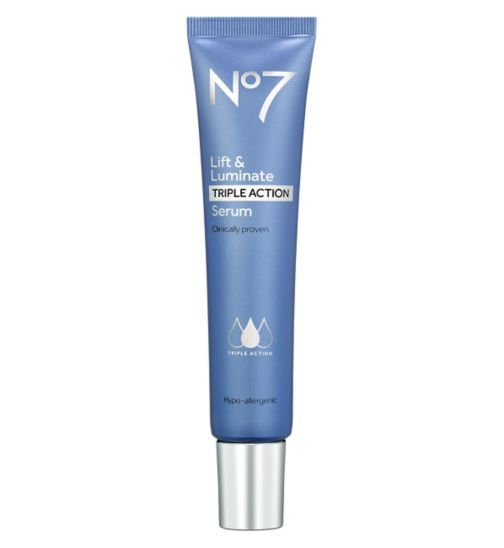 No7 Lift and Luminate Triple Action Serum 50ml - Boots: