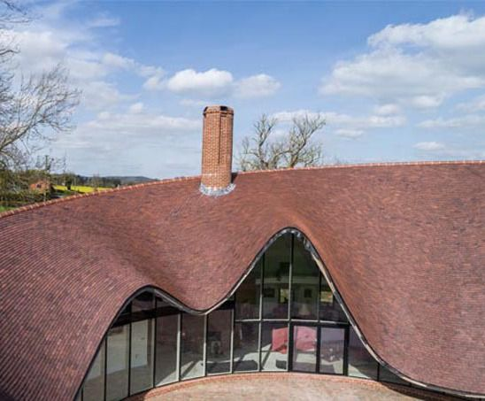 Paneling Double Curved Surface Roof Tiles Grasshopper Mcneel Forum Surfaces Architecture Unusual Buildings Tile Layout