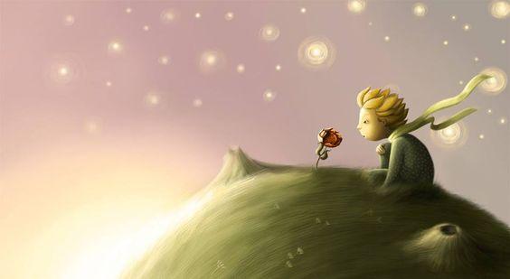 """'Es una locura odiar a todas las rosas porque una te pinchó. Renunciar a todos tus sueños porque uno de ellos no se realizó'.  """"El Principito"""" - Antoine de Saint-Exupéry."""