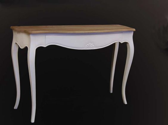Consola Vintage Blanca Mai - Consolas Vintage - Muebles Vintage