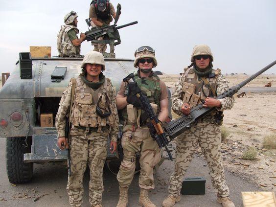 In Iraq!