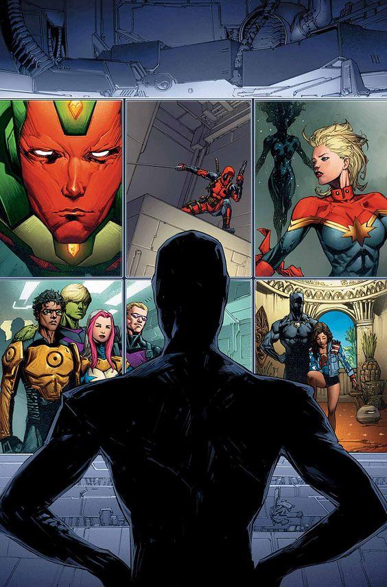 Assembling the New Avenger Teams, new Marvel