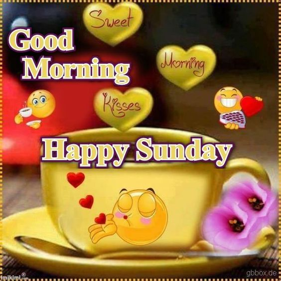 Good Morning Sunday Love : Good morning happy sunday pictures photos and images for
