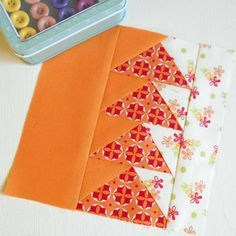 100 Modern Quilt Blocks - Block 54 - Homeward Bound.
