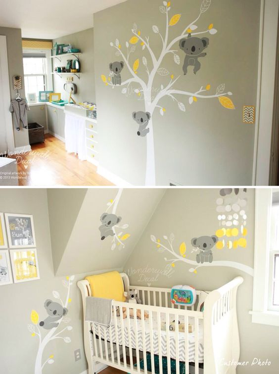 Stickers Koala pour la chambre de nos bébés !