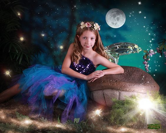 ... Fairies and Mighty Warriors Photo Session @Enchanted Fairies Studio