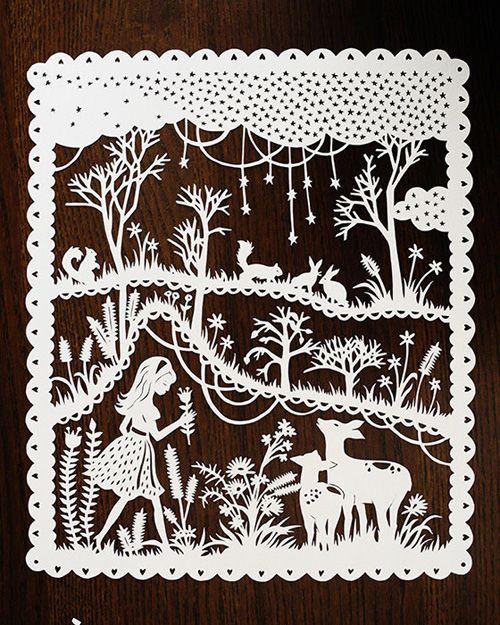 My Owl Barn: Sarah Trumbauer: Papercut