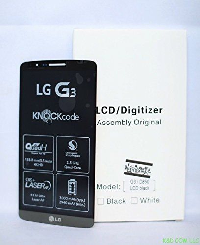 Buy New LG G3 D850 D851 D855 VS985 LS990 LCD Digitizer Touch Screen Assembly USA(Black) NEW for 60.99 USD   Reusell