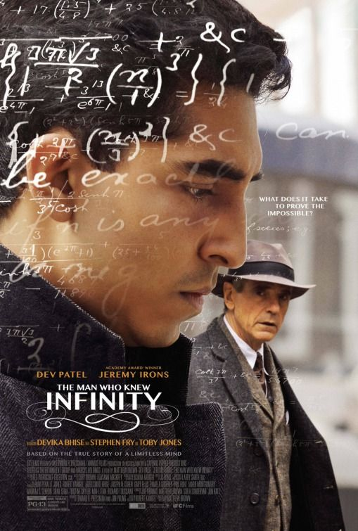 The Man Who Knew Infinity (2016). Directed by Matt Brown. Produced by Edward R. Pressman Film. Sound mixed at Twickenham Film Studios