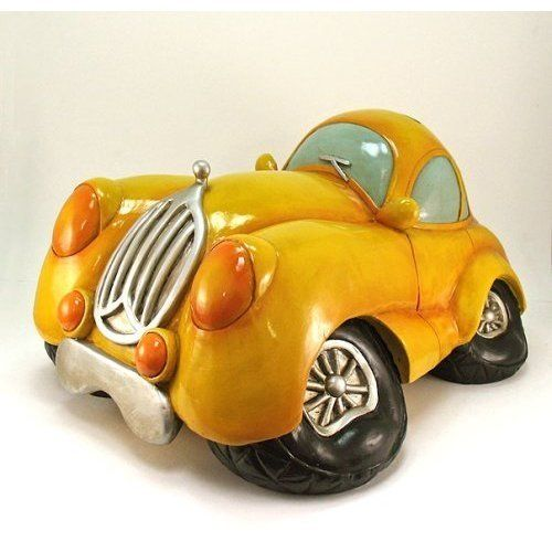 Cars dads and vintage on pinterest Decorative piggy banks for adults