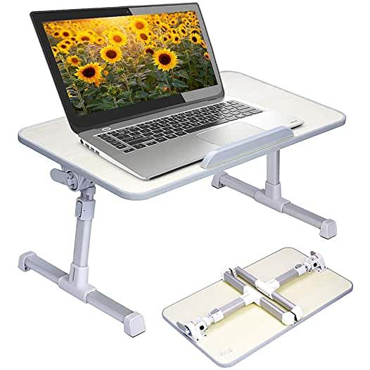 Amazon Com Laptop Desk For Bed In 2020 Laptop Stand Bed