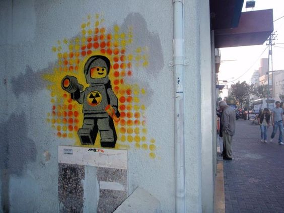 Ame72, Lego, Love + Frogs, Tel Aviv