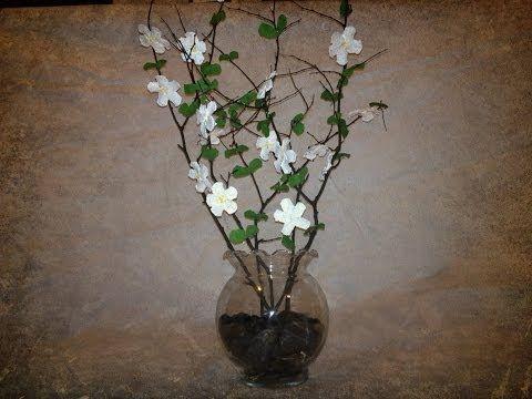 diy arreglo floral en jarron alto youtube