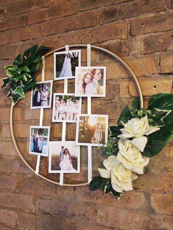 Faça Você Mesmo: Mural de Fotos - Casando Sem Grana