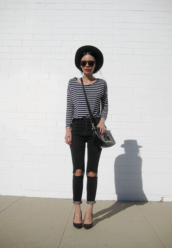 the-streetstyle: The Breton... A Fashion Tumblr full of Street Wear, Models, Trends & the lates