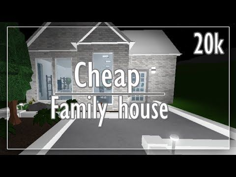 Bloxburg Ii Cheap One Story 20k Modern Family House No Gamepasses
