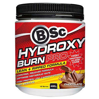 BSc HydroxyBurn Pro 400g Chocolate