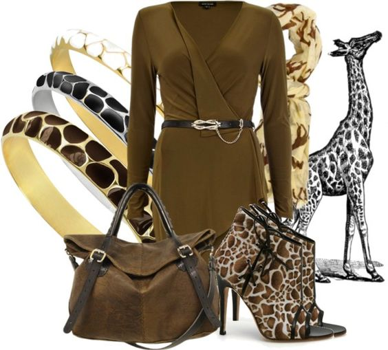 """Giraffe Style II"" by aannggiiee ❤ liked on Polyvore"