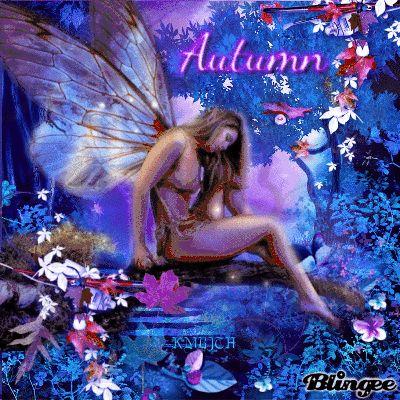 Autumn Night Fairy