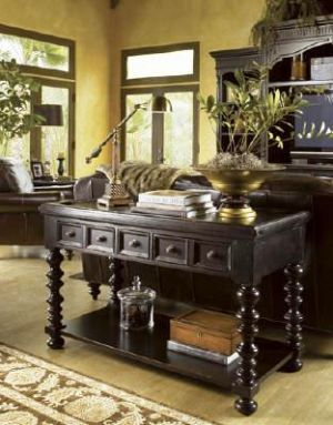 Colonial tommy bahama and consoles on pinterest - Console style colonial ...