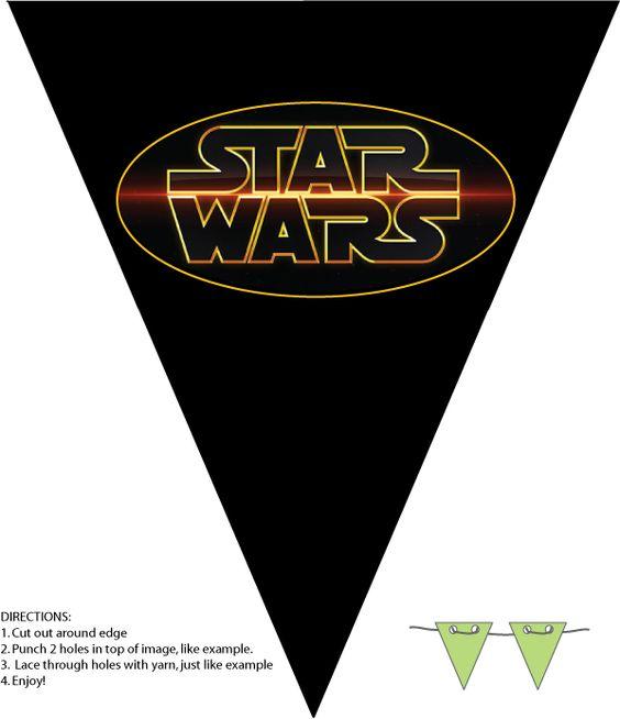 Banderines star wars
