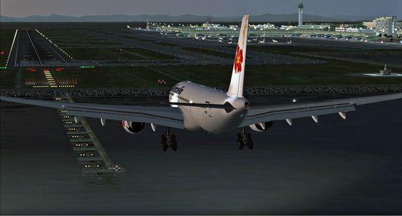 Chubu Centrair Int'l Airport (NGO) Aichi, Japan. Plane Simulation Landing! (google.image)