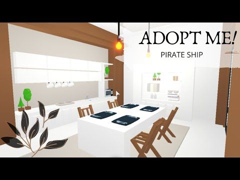 Pirate House Speed Build Tour Part 1 Adopt Me Youtube My Home Design Tiny House Layout Cute Room Ideas