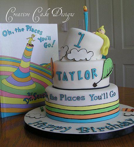 Love Dr. Seuss Cakes!