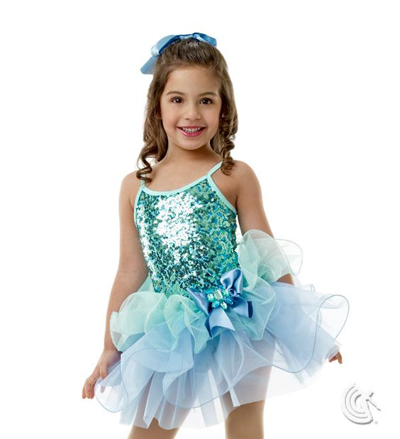 Curtain Call Costumes® - I Love Spring Mint nylon/spandex
