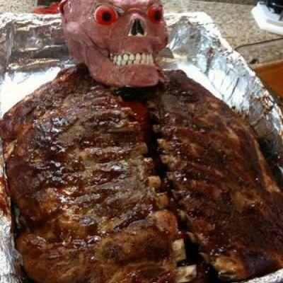 Gross Halloween Autopsy Dinner | halloween | Pinterest | Halloween ...