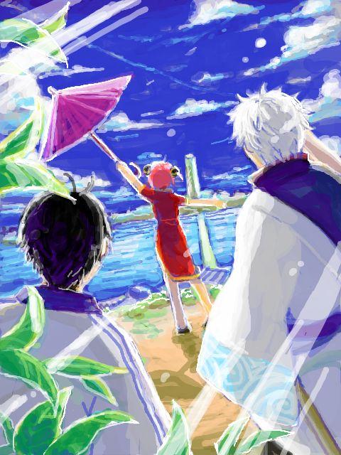Gintoki, Shinpachi & Kagura