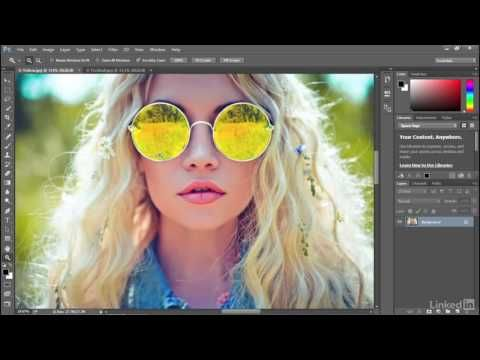 Adobe Photoshop CC 2015 Tutorial | 012 Zooming continuously