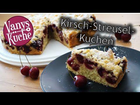 Thermomix Kirsch Streusel Kuchen Schnell Einfach Und Lecker Youtube Einfach Lecker Kirschkuchen Mit Streusel Und Kuchen