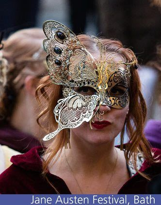 jane austen masquerade ball in bath