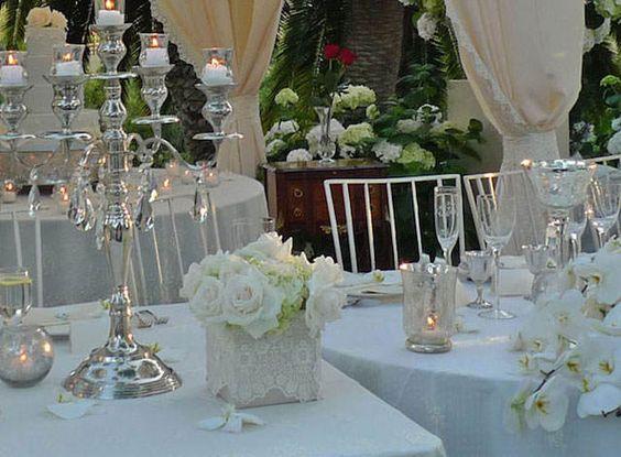 tema vintage para centros de mesa para boda